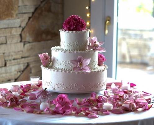 Esküvői torta hagyományos